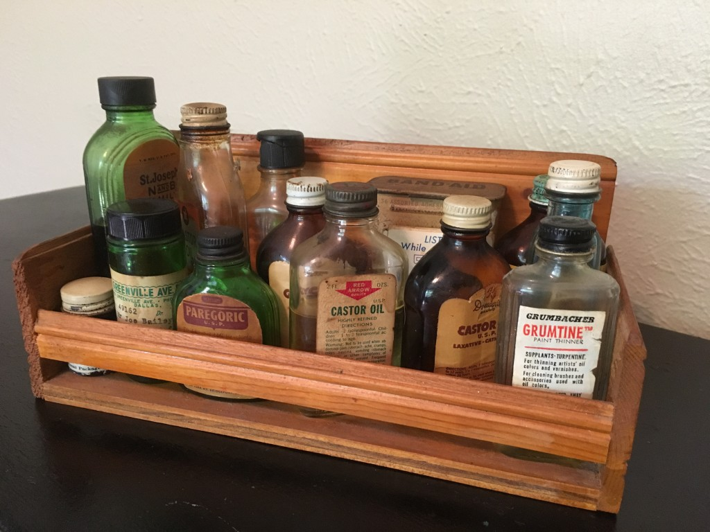 antique vintage medicinal bottles